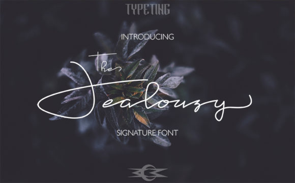 Print on Demand: Jealousy Script & Handwritten Font By Typeting Studio