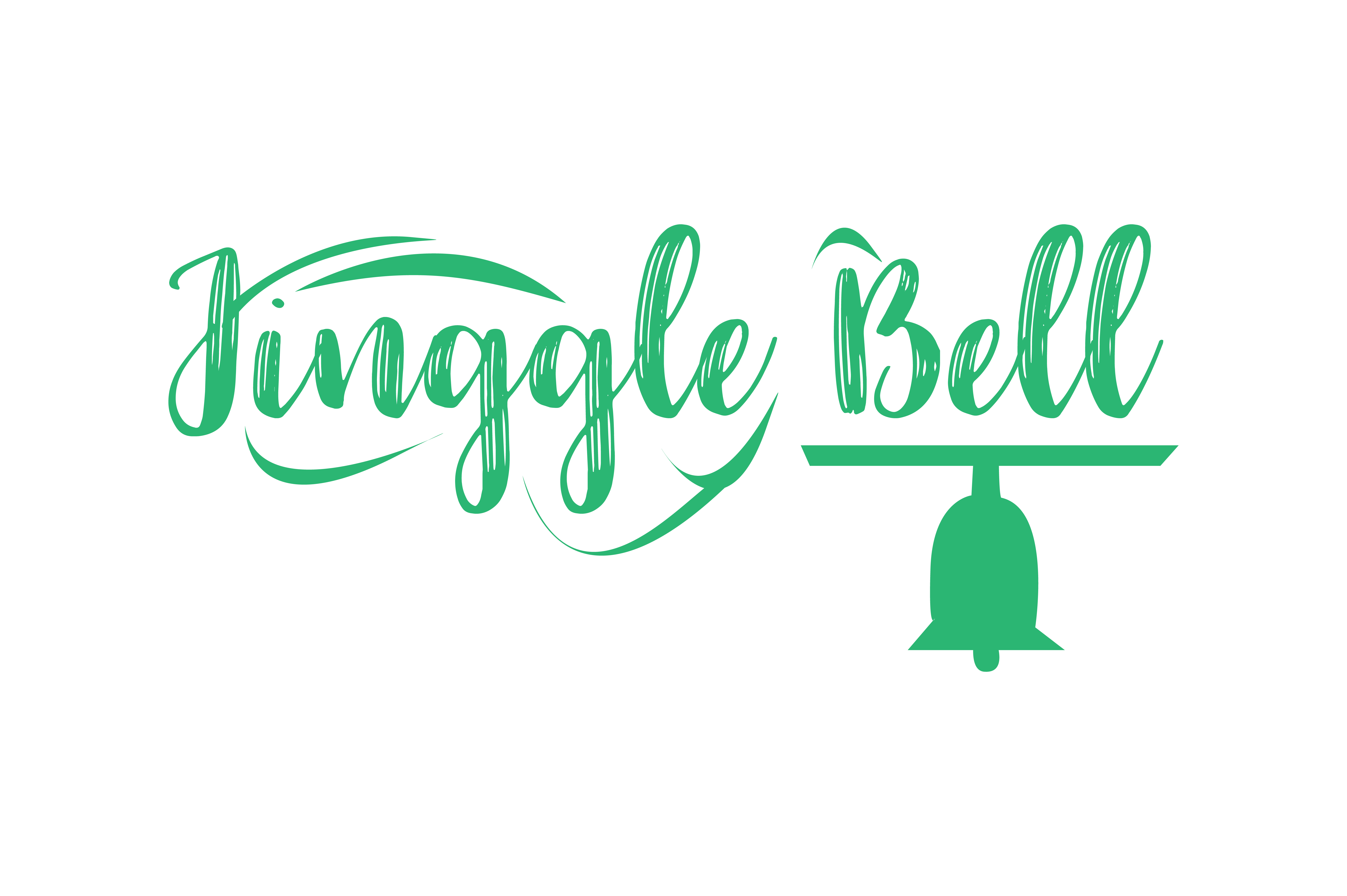 Download Free Jinggle Bell Graphic By Thelucky Creative Fabrica for Cricut Explore, Silhouette and other cutting machines.