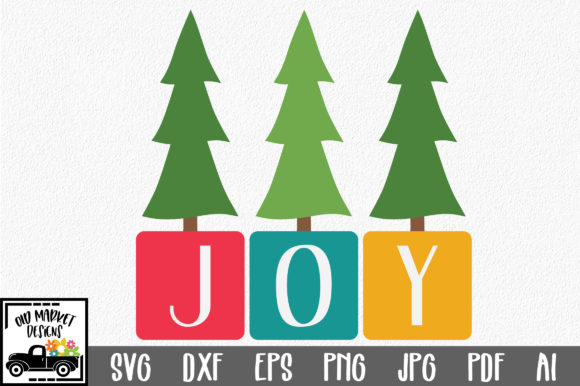 Download Free Joy Christmas File Graphic By Oldmarketdesigns Creative Fabrica for Cricut Explore, Silhouette and other cutting machines.