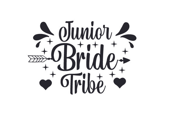 Download Free Junior Bride Tribe Svg Cut File By Creative Fabrica Crafts for Cricut Explore, Silhouette and other cutting machines.