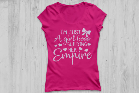 Download Free Just A Girl Boss Building Her Empire Svg Graphic By for Cricut Explore, Silhouette and other cutting machines.
