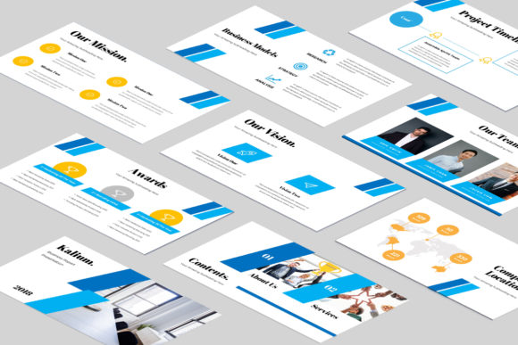 Kalium Corporate Powerpoint Presentation Graphic Presentation Templates By TMint - Image 2