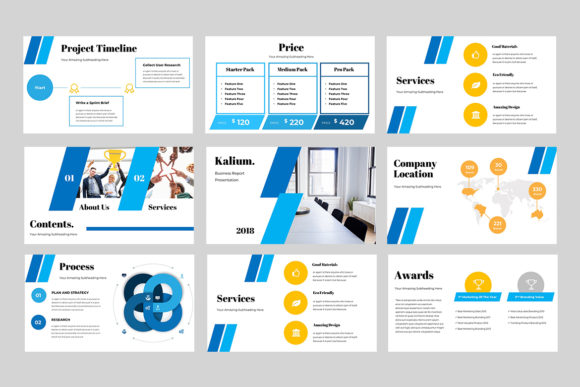 Kalium Corporate Powerpoint Presentation Graphic Presentation Templates By TMint - Image 3