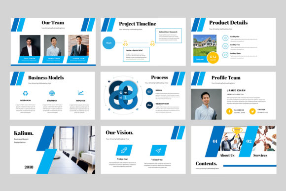 Kalium Corporate Powerpoint Presentation Graphic Presentation Templates By TMint - Image 4