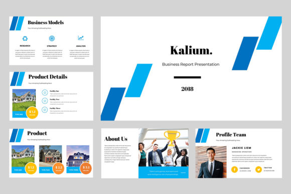 Kalium Corporate Powerpoint Presentation Graphic Presentation Templates By TMint - Image 5