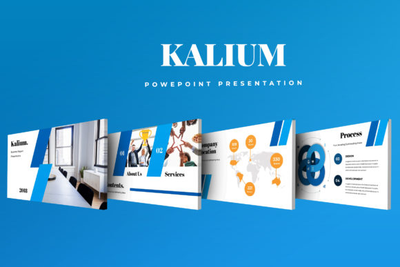 Kalium Corporate Powerpoint Presentation Graphic By TMint