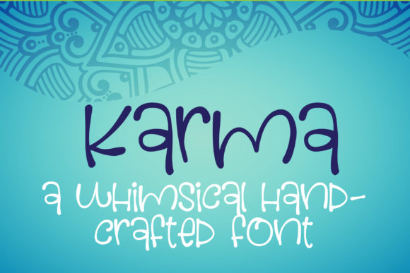 Print on Demand: Karma Script & Handwritten Font By Illustration Ink - Image 1