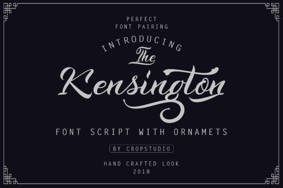 Print on Demand: Kenshington Script & Handwritten Font By Ageless Type