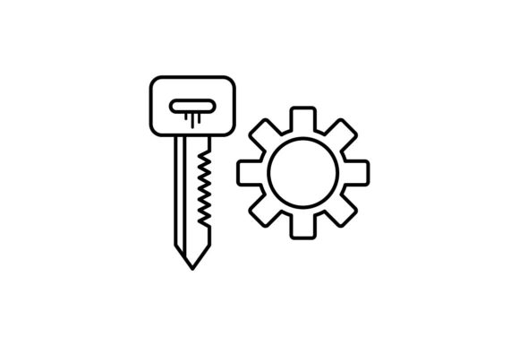 Print on Demand: Key Manager Graphic Icons By khld939