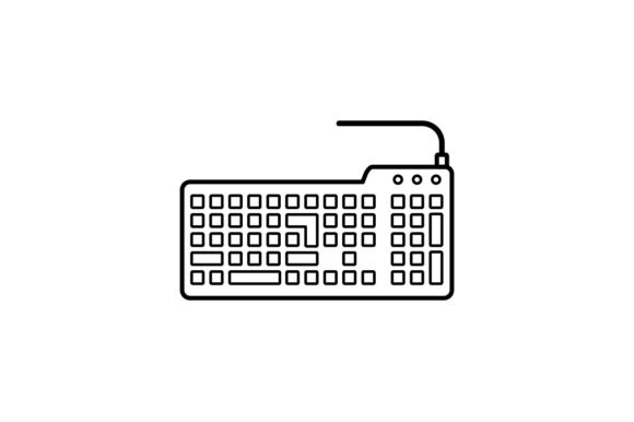 Print on Demand: Keyboard Gráfico Iconos Por khld939