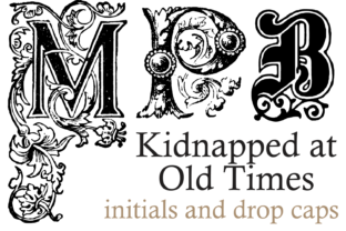 Kidnapped at Old Times Family Display Font By Intellecta Design