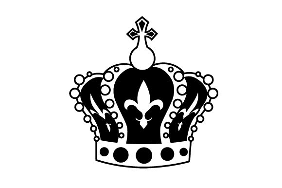 Download Free King Crown In Festival Colors Svg Cut File By Creative Fabrica for Cricut Explore, Silhouette and other cutting machines.
