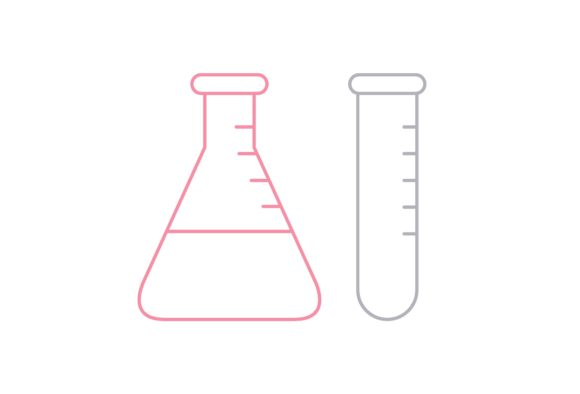 Print on Demand: Lab Tube Graphic Icons By Iconika