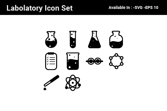 Download Free Labs Icon Set Graphic By Nirmala Graphics Creative Fabrica for Cricut Explore, Silhouette and other cutting machines.