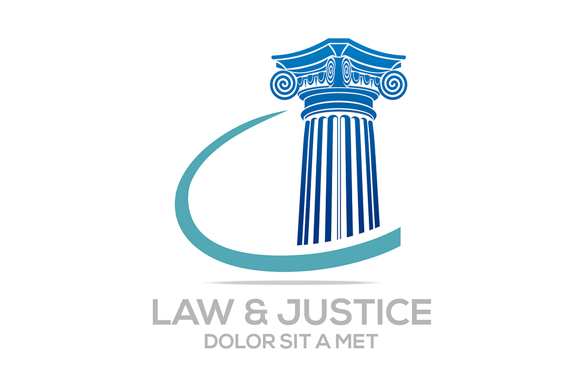 Download Free Law And Justice Logo Graphic By Acongraphic Creative Fabrica for Cricut Explore, Silhouette and other cutting machines.
