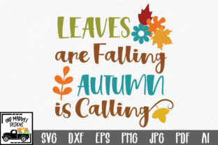 Leaves Are Falling SVG Graphic By oldmarketdesigns