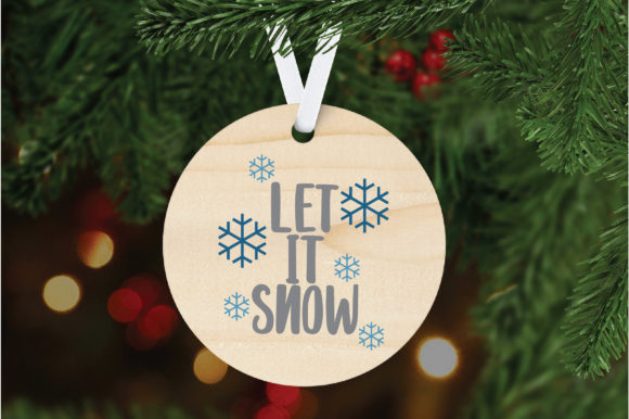 Download Free Let It Snow Svg Cut File Christmas Svg Graphic By for Cricut Explore, Silhouette and other cutting machines.