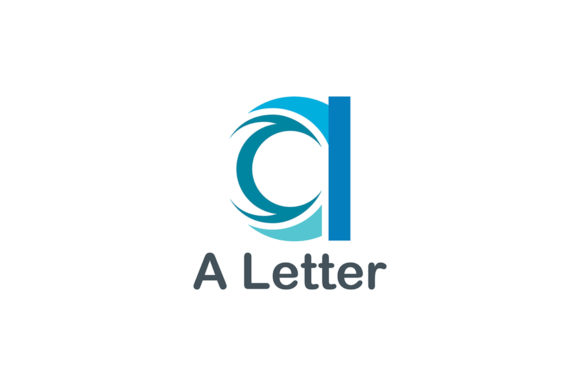 Letter a Logo Graphic Logos By Friendesigns