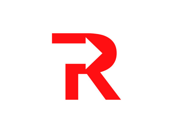 Download Free Letter R Logo Graphic By Meisuseno Creative Fabrica for Cricut Explore, Silhouette and other cutting machines.