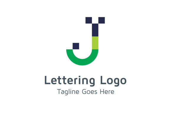 Lettering J Logo Graphic Logos By Acongraphic