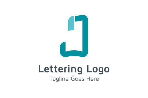 Download Free Lettering J Logo Grafico Por Acongraphic Creative Fabrica for Cricut Explore, Silhouette and other cutting machines.