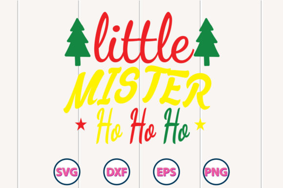 Little Minister Ho Ho Ho SVG Design Graphic Crafts By Graphiccycle