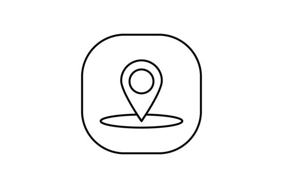 Print on Demand: Location Graphic Icons By khld939