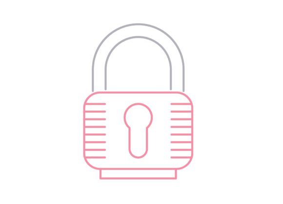 Print on Demand: Lock Graphic Icons By Iconika