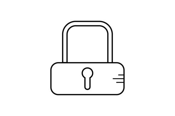 Print on Demand: Lock Graphic Icons By khld939