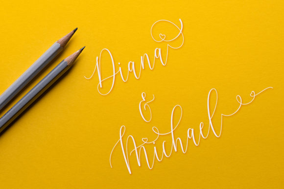 Print on Demand: Lovelay Script & Handwritten Font By Rudistudio - Image 4