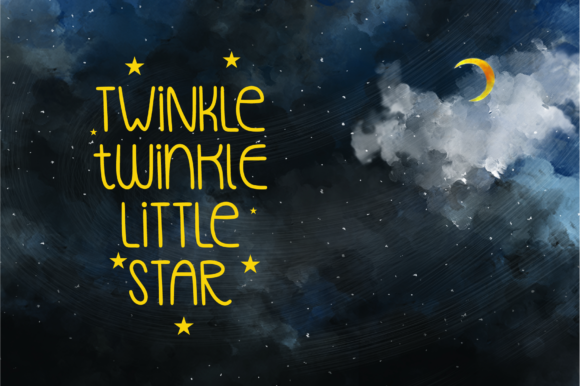 Download Free Lullaby Font By Emylia Design Creative Fabrica for Cricut Explore, Silhouette and other cutting machines.