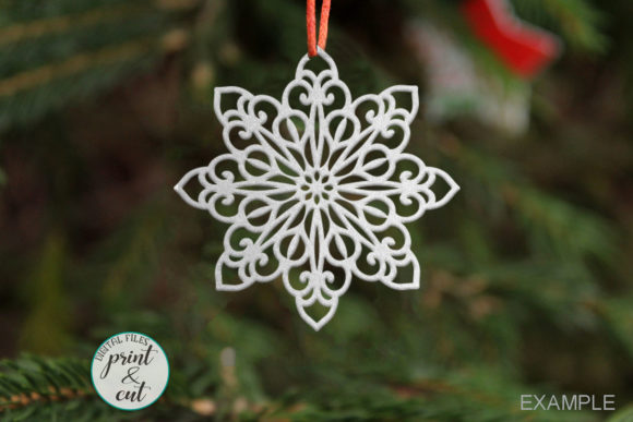 Download Free Luxury Snowflakes Graphic By Cornelia Creative Fabrica SVG Cut Files