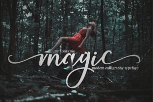 Magic Font By Mrletters