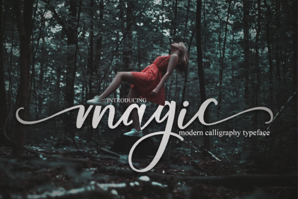 Print on Demand: Magic Script & Handwritten Font By Mrletters - Image 1
