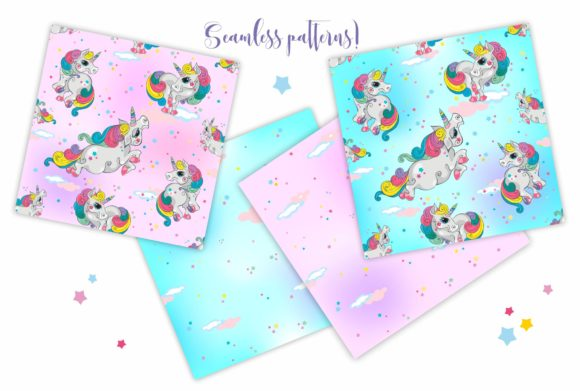 Magical Unicorns Graphic Illustrations By grigaola - Image 4