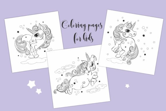 Magical Unicorns Graphic Illustrations By grigaola - Image 6