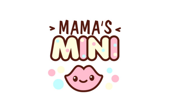 Mama's Mini Graphic Crafts By Peliken