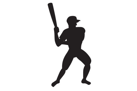 Download Free Man Playing Baseball Silhouette Svg Cut File By Creative Fabrica SVG Cut Files
