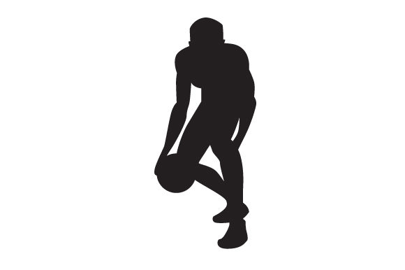 Download Free Man Playing Basketball Silhouette Svg Cut File By Creative SVG Cut Files