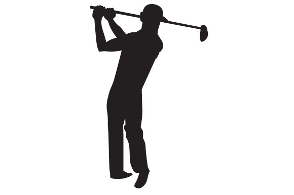 Download Free Man Playing Golf Silhouette Svg Cut File By Creative Fabrica for Cricut Explore, Silhouette and other cutting machines.