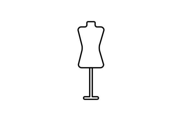Download Free Mannequin Graphic By Khld939 Creative Fabrica for Cricut Explore, Silhouette and other cutting machines.