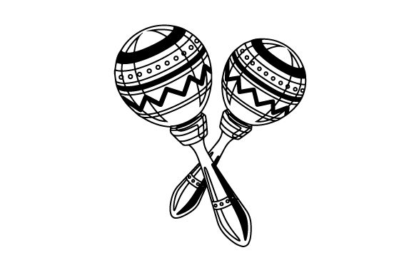 Download Free Maracas Svg Cut File By Creative Fabrica Crafts Creative Fabrica for Cricut Explore, Silhouette and other cutting machines.