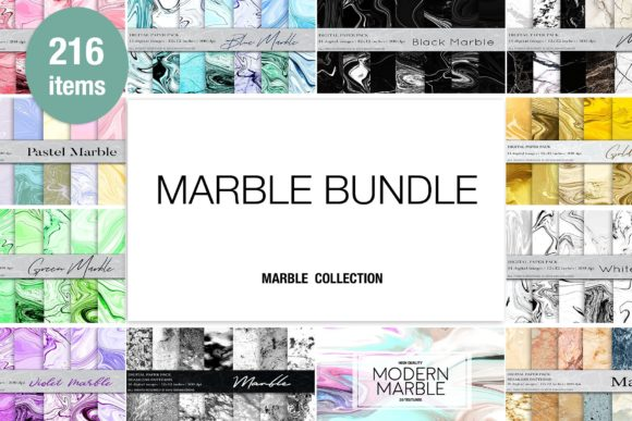 Download Free Marble Background Bundle Graphic By Bonadesigns Creative Fabrica SVG Cut Files