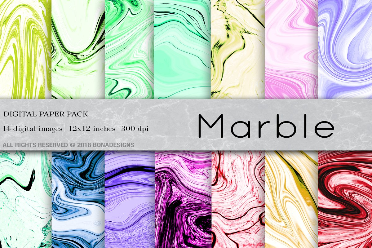 Download Free Marble Background Digital Paper Graphic By Bonadesigns for Cricut Explore, Silhouette and other cutting machines.