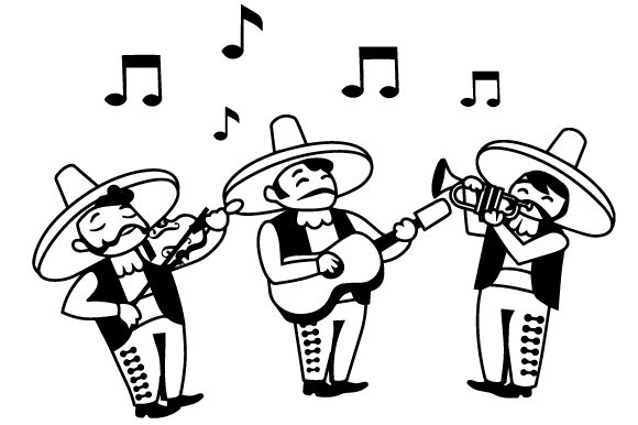 Download Free Mariachis Svg Cut File By Creative Fabrica Crafts Creative Fabrica for Cricut Explore, Silhouette and other cutting machines.