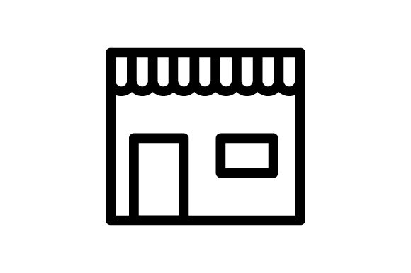 Download Free Market Icon Graphic By Rudezstudio Creative Fabrica for Cricut Explore, Silhouette and other cutting machines.