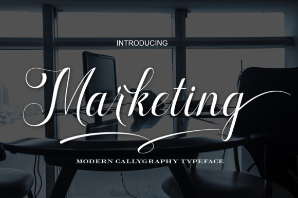 Marketing Script & Handwritten Font By art design