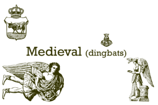 Medieval Font By Intellecta Design