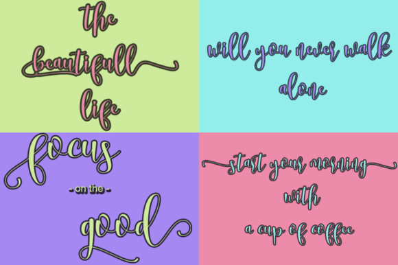 Mellow Font By Natural Ink Image 2