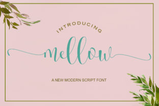 Mellow Font By Natural Ink